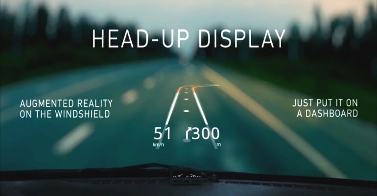 Qué es el sistema Head UP Display