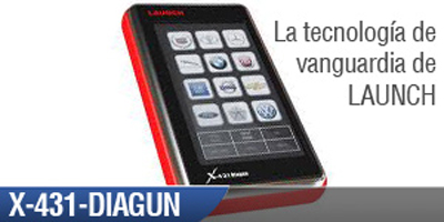 Scanner Automotriz X 431 DIAGUN