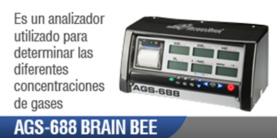 Opacímetro Automotriz AGS 688 Brain Bee