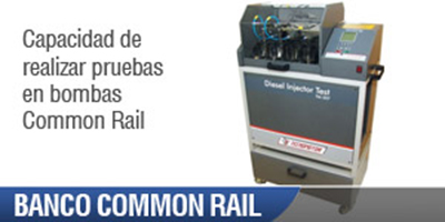 Banco Inyectores Automotriz Common Rail