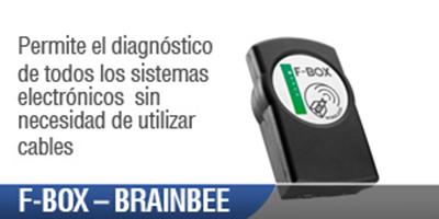 Scanner Automotriz F Box Brain Bee. Diagnóstico de los sistemas electrónicos instalados a bordo de vehículos comerciales y pesados sin necesidad de cables