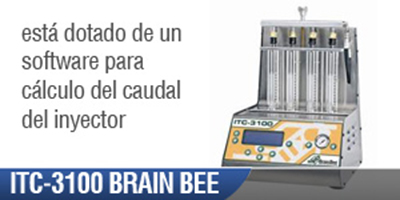 Banco Inyectores Automotriz ITC 3100 Brain Bee
