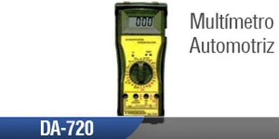 Multímetro Automotriz DA 720