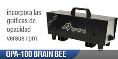 Opacímetro Automotriz OPA 100 Brain Bee