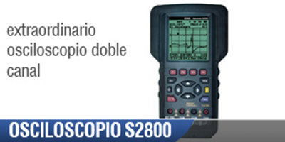 Osciloscopio Automotriz S2800