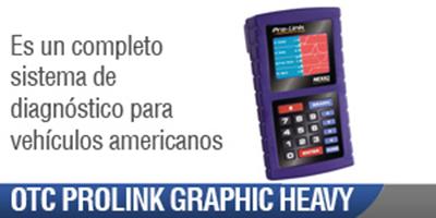 Scanner Automotriz OTC Prolink Graphic Heavy