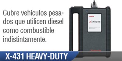 Scanner Automotriz X 431 Heavy Duty