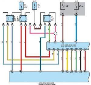 Esquema Electrico ABS