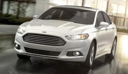 Ford Fusion Diseno Aerodinamico