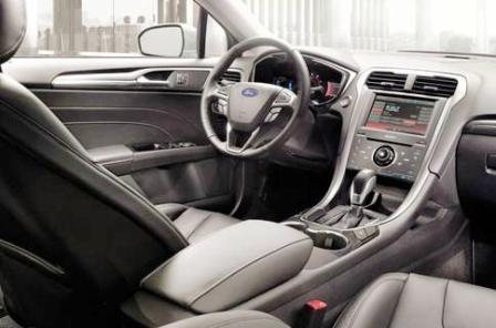 Ford Fusion Disenio Interior