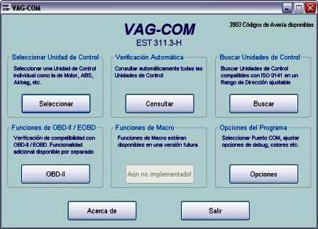 Programa de Diagnostico Vag Com