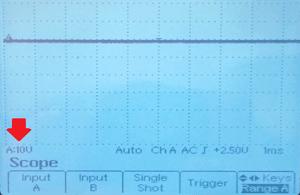 Tensiondel osciloscopio