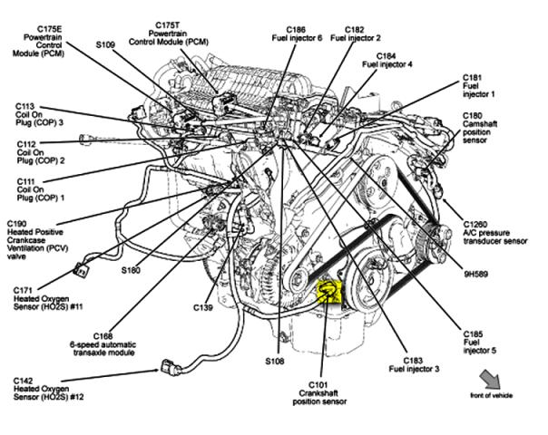 Toyota O2 Sensor Wiring Diagram as well 2002 Nissan Sentra Fuse Diagram together with 2005 Chevy Tahoe Transmission Control Module Location additionally 2006 Chevrolet Equinox Parts Catalog moreover Low Power Solenoid Valve. on p 0996b43f80cb1d07