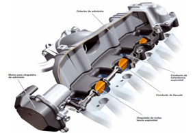 Motores Diesel con Sistema de Admisión con Chapaletas de Turbulencia Espiroidal (Swirl)
