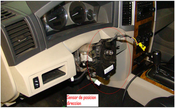 Sensor Posicion Columna Direccion