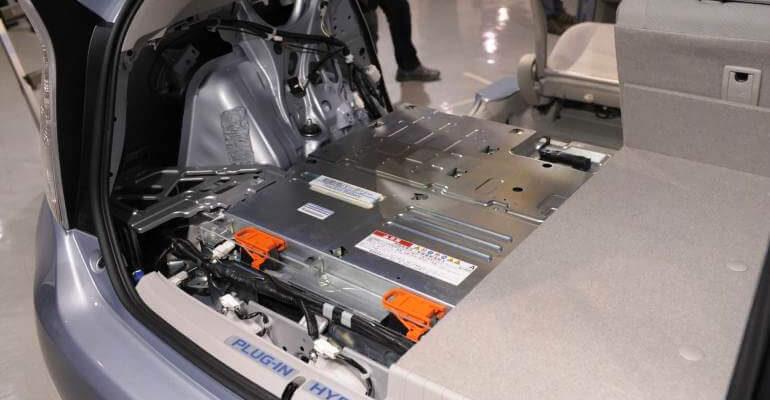 batería de vehículos híbridos y eléctricos