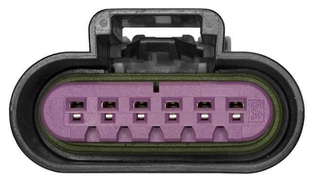 app sensor pedal de seis cables