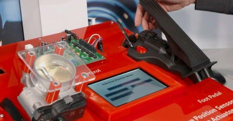 Sensor Pedal Acelerador APP