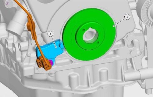 Sensor de Posición del Cigüeñal ckp reluctor