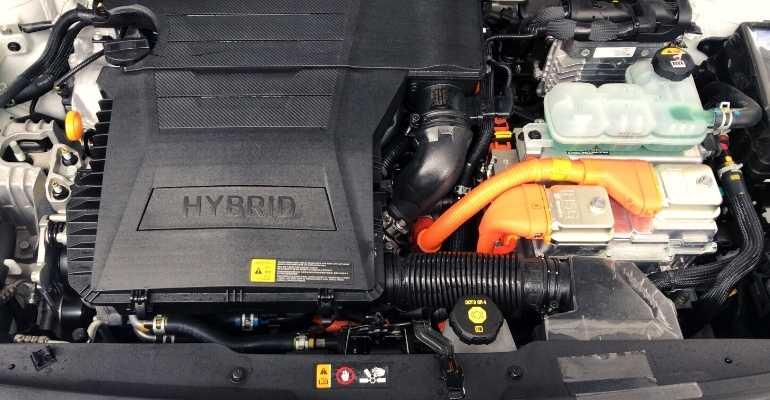 motor carro híbrido e inversor